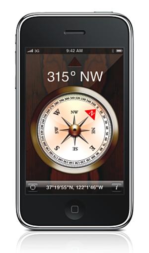boussole iphone News   iH8Sn0w porte lapplication Boussole de liPhone sur liPad [Vidéo]