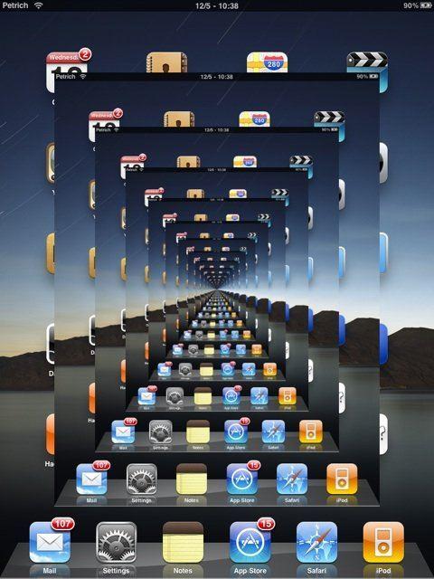 cbd News    rpetrich publie une photo du SpringBoard de son iPad