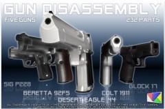 gun21 AppStore   Gun Disassembly 3D : Démonter un pistolet en 3D sur votre iPhone