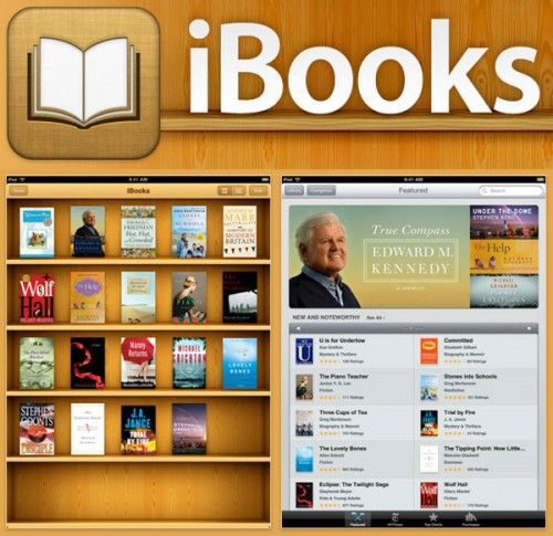 ibook app ipad 500x485 News   iBooks disponible sur lAppStore français !