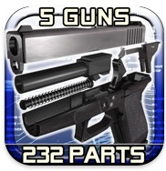 icondemonntagegun AppStore   Gun Disassembly 3D : Démonter un pistolet en 3D sur votre iPhone