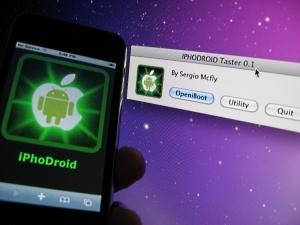 iphodroidandroidoniphon Tutoriel   Installer iDroid sur votre iPhone 2G et 3G de façon automatique [Vidéo]