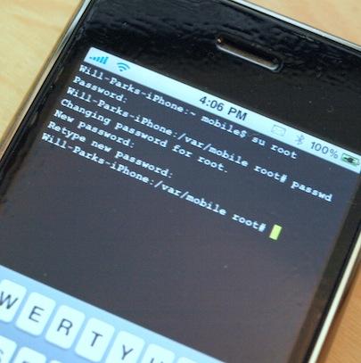 Tutoriel   Régler le problème de connexion SSH en 3.1.3 pour iPod Touch 1G/2G/3G et iPhone V1/3G/3GS