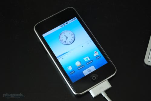 itouch android 499x334 News   Du nouveau quant à linstallation de Android sur liPhone [Vidéo]