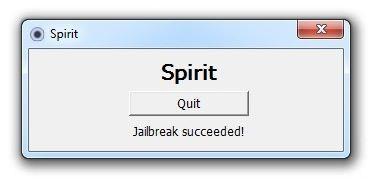 Tutoriel   Jailbreak 3.1.3 avec Spirit de Comex pour iPhone / iPod Touch / iPad [Windows][Vidéo]