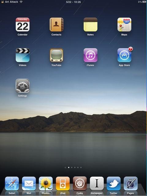 lo0c Cydia   InfiniDock pour iPad bientôt disponible