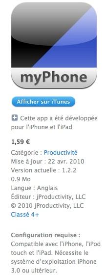 myPhoneDesktop2 AppStore   myPhoneDesktop : Envoyer des images, du texte, des URLs et plus en WIFI à votre iDevice