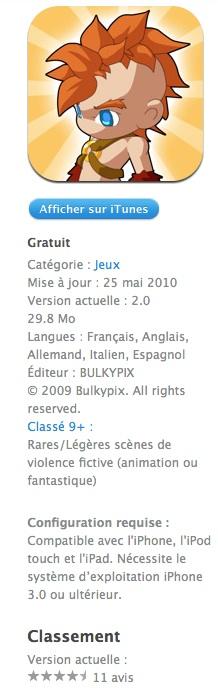 mybrute2 AppStore   My Brute : Lapplication gratuite du jour