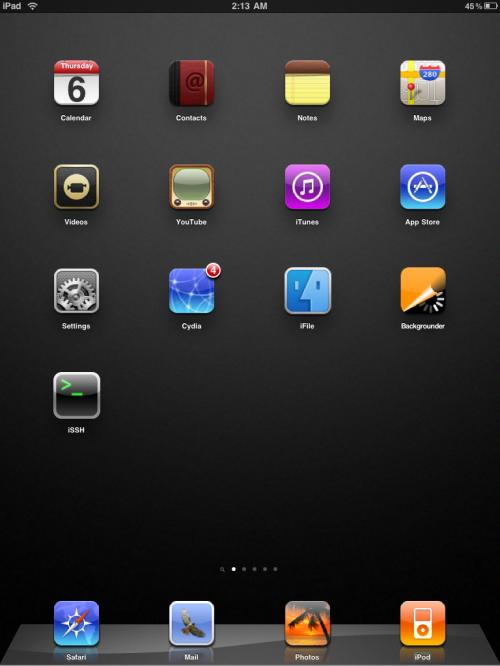 winterboard ipad classica 500x666 Cydia   WinterBoard compatible avec liPad !