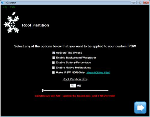 118958370 500x390 Jailbreak News   Sn0wBreeze v 1.6 ajoute de nouvelles fonctionnalités