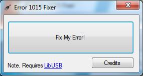 15 Tutoriel   Error 1015 Fixer : Résoudre lerreur 1015 iTunes {Windows}