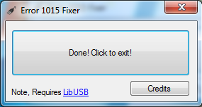 22 Tutoriel   Error 1015 Fixer : Résoudre lerreur 1015 iTunes {Windows}