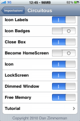 3 160x240 Cydia   Circuitous 2.0 3 : Mise à jour importante du tweak de multi tâches