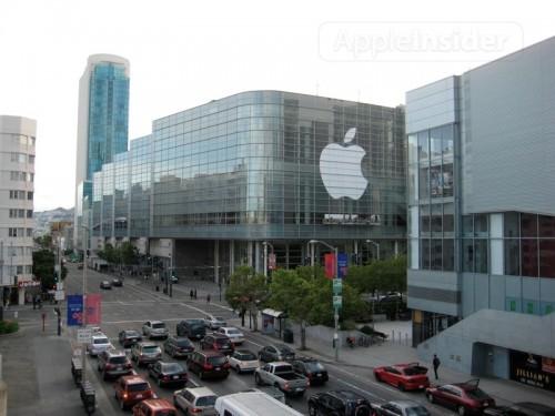 33987 500x375 News   Apple prépare le Moscone Center pour la WWDC 2010