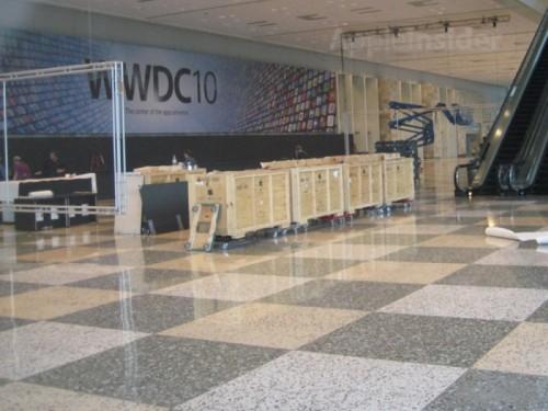 33989 500x375 News   Apple prépare le Moscone Center pour la WWDC 2010