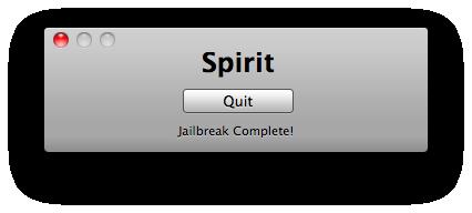 34612 Jailbreak   La faille utilisée par Spirit a été comblée dans liOS 4