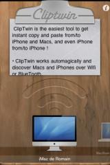 960504 2 160x240 AppStore   ClipTwin Copy & Paste HD, ou comment faire du copier coller entre appareils
