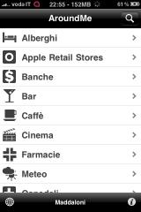 Am img3 AppStore   Mise à jour de AroundMe : compatible iOS 4