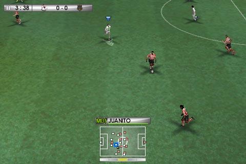 IMG 0005 copy Jeux   PES 2010 : le fameux jeu de simulation de football arrive sur iPhone !