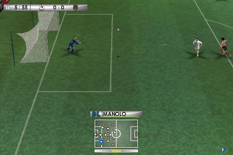 IMG 0006 copy Jeux   PES 2010 : le fameux jeu de simulation de football arrive sur iPhone !