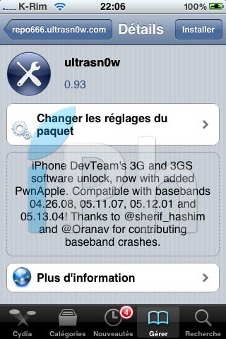 IMG 2036 Tutoriel   JailbreakMe iOS 4 iPhone 3G / 3GS / 4 iPod Touch 2G / 3G et iPad 3.2 / 3.2.1 par Comex [VIDEO][MAJ]