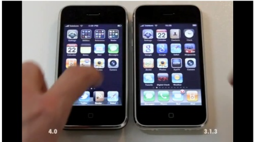 Sans titre News   LiOS 4 ferait chuter les performances de liPhone 3G