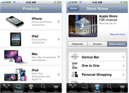 Schermata 2010 06 15 a 14.15.41 414x299 News   Apple publie une application AppleStore sur le store US