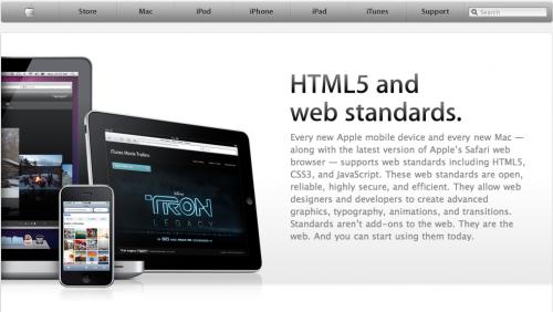 Screen 2010 06 04 à 19.32.11 500x282 News   Apple ouvre un site en HTML 5 pour iPhone/iPad