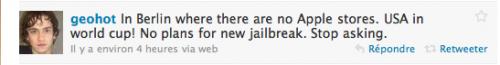 Screen 2010 06 24 à 11.16.17 500x65 Jailbreak   Geohot ne travaille sur aucun outil de jailbreak