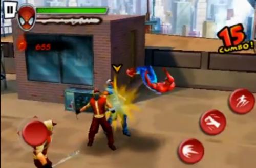 Screen shot 2010 06 16 at 8.28.15 PM 500x329 Jeux   Gameloft présente le trailer de Spider Man [Vidéo]