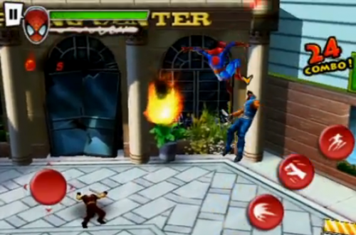 Screen shot 2010 06 16 at 8.28.42 PM 500x330 Jeux   Gameloft présente le trailer de Spider Man [Vidéo]