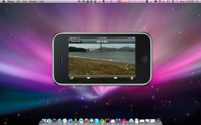 Screenshot2 414x258 News   iDemo : Visualisez le SpringBoard de votre iPhone sur votre Mac [Vidéo]