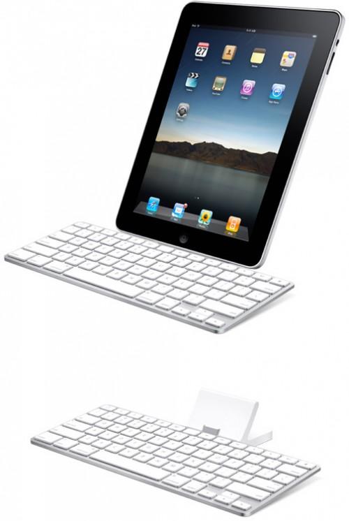 apple ipad keyboard dock 500x746 News   Utilisation dun clavier iPad sur un iPhone OS 4 [Vidéo]