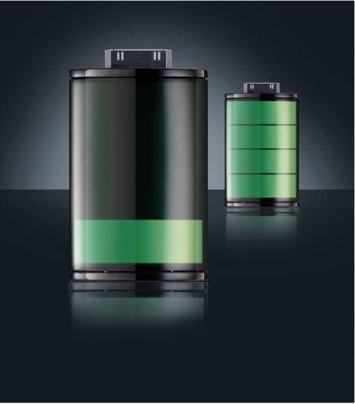 bat Concept   Une batterie externe en forme dicône !