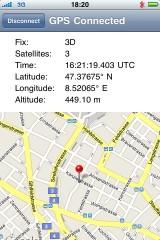 btgps2 160x240 Cydia   Mise à jour de BTStack GPS en 1.3