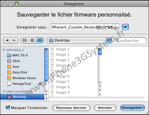 customitunes Tutoriel   Jailbreak iPhone 3GS 4.0 bêta 4 avec PwnageTool et RedSn0w 0.9.5b4 sous MAC OS X