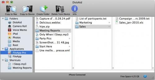 diskaid mac 500x258 News   DiskAid disponible en version 4.0