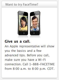 facetime 100625 News   Apple vous offre un numéro gratuit pour tester FaceTime