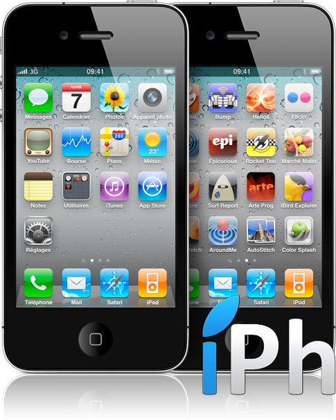 homescreen hero 20100607 copie Vidéo   Déballage de liPhone 4 par iPhone3GSystem