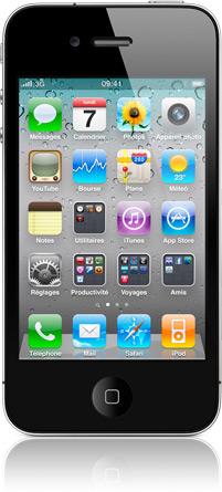 homescreen organize 20100607 iOS 4   Une mise à jour en 4.0.1 ce lundi ?