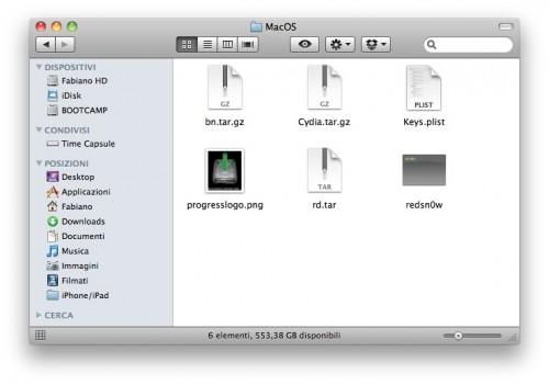img2 Tutoriel   Jailbreak iPhone 3GS 4.0 bêta 4 avec PwnageTool et RedSn0w 0.9.5b4 sous MAC OS X