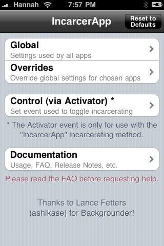 incarcerapp4 Cydia   IncarcerApp : désactiver le bouton accueil lorsque vous ouvrez une application