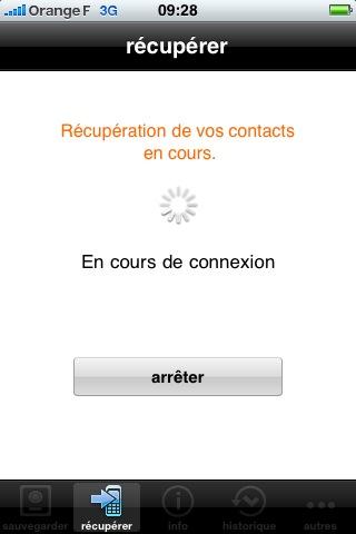 mzl.fdkiujlw.320x480 75 AppStore   Orange sort lapplication Sauvegarde Contacts