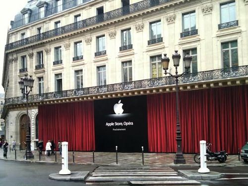 opera june9 News   Ouverture de 2 nouveaux Apple Store à Paris et Shangai [video]