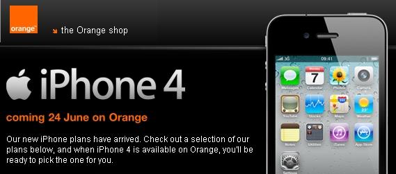 orange iphone4 News   Orange naurait que 20 000 iPhone à vendre