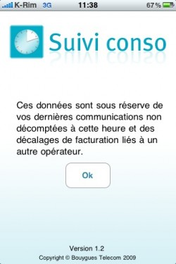 photo 1 250x375 AppStore   Bouygues met à jour son application du suivi conso