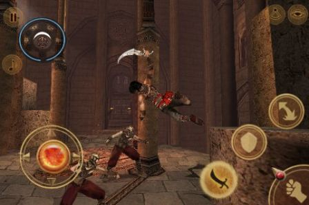 prince of persi iphone 1 m Jeux   Prince of Persia enfin disponible sur lAppStore