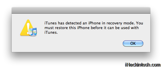 restore Tutoriel   Downgrade iPhone 3G/3GS FW iOS 4.0 en FW 3.1.3