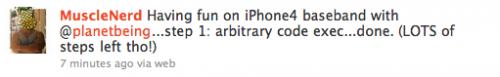 11 500x77 Jailbreak News   MuscleNerd et planetbeing travaillent sur le baseband de liPhone 4