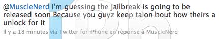 13 Jailbreak News   MuscleNerd : Jailbreak iOS 4 et désimlockage imminent ?